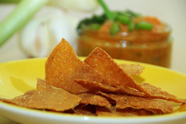 tortilla chips selber machen das rezept. Black Bedroom Furniture Sets. Home Design Ideas