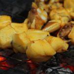 Tintenfisch vom Grill
