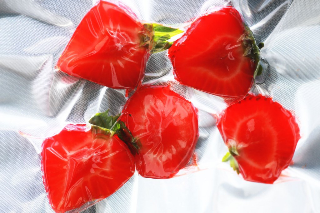 Erdbeeren Sous Vide