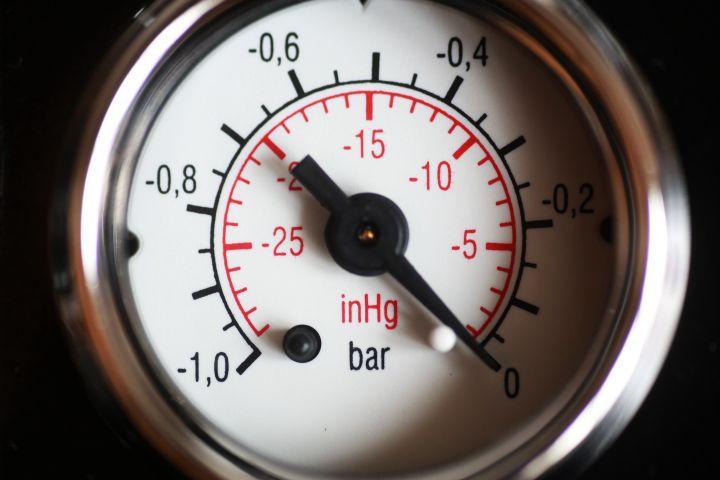 Manometer des Sous-vide Vakuumierer V.300