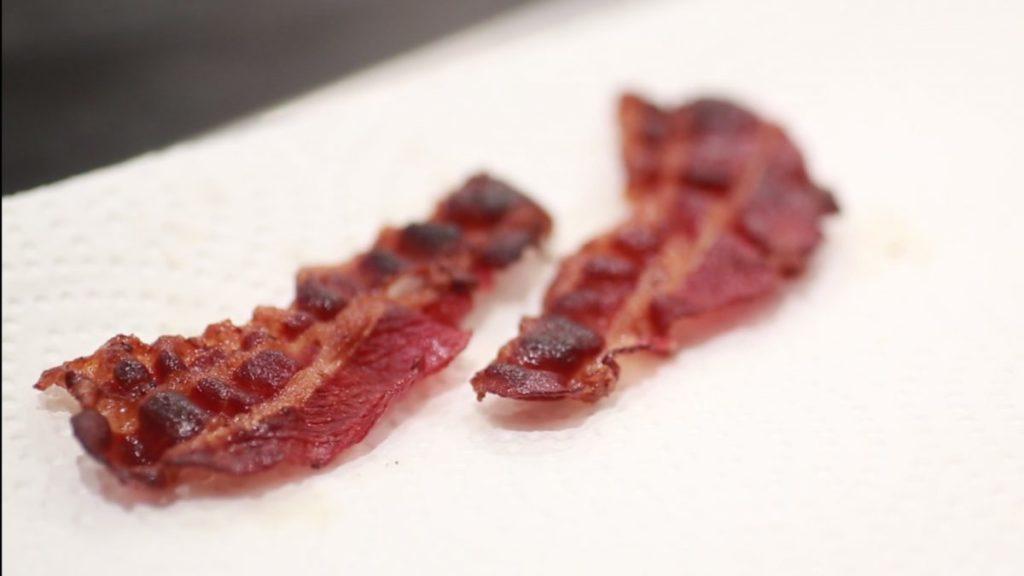 bacon knusprig