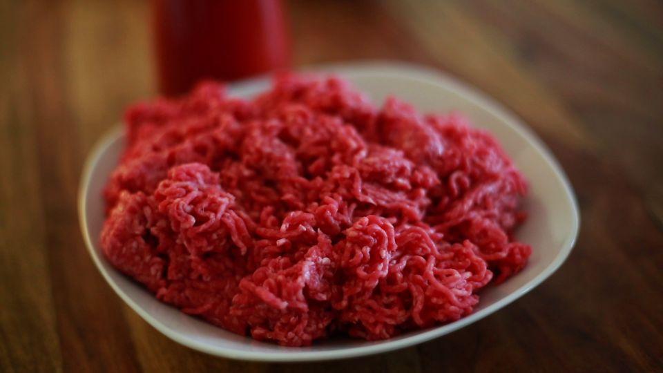 Rinderhackfleisch für Bolognese Originalrezept