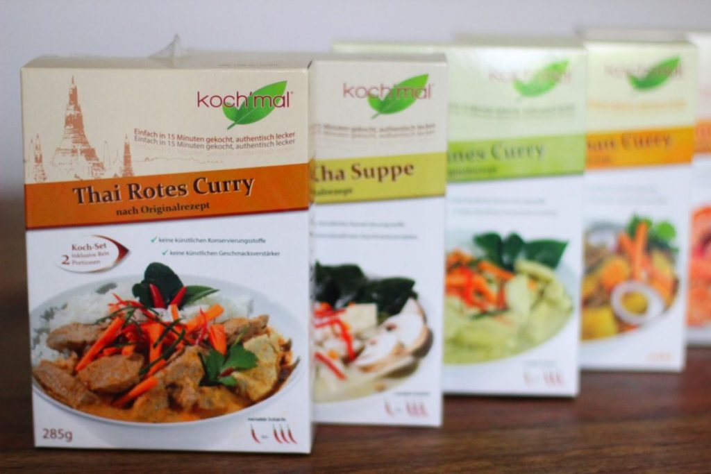 Koch mal Thai Produkte