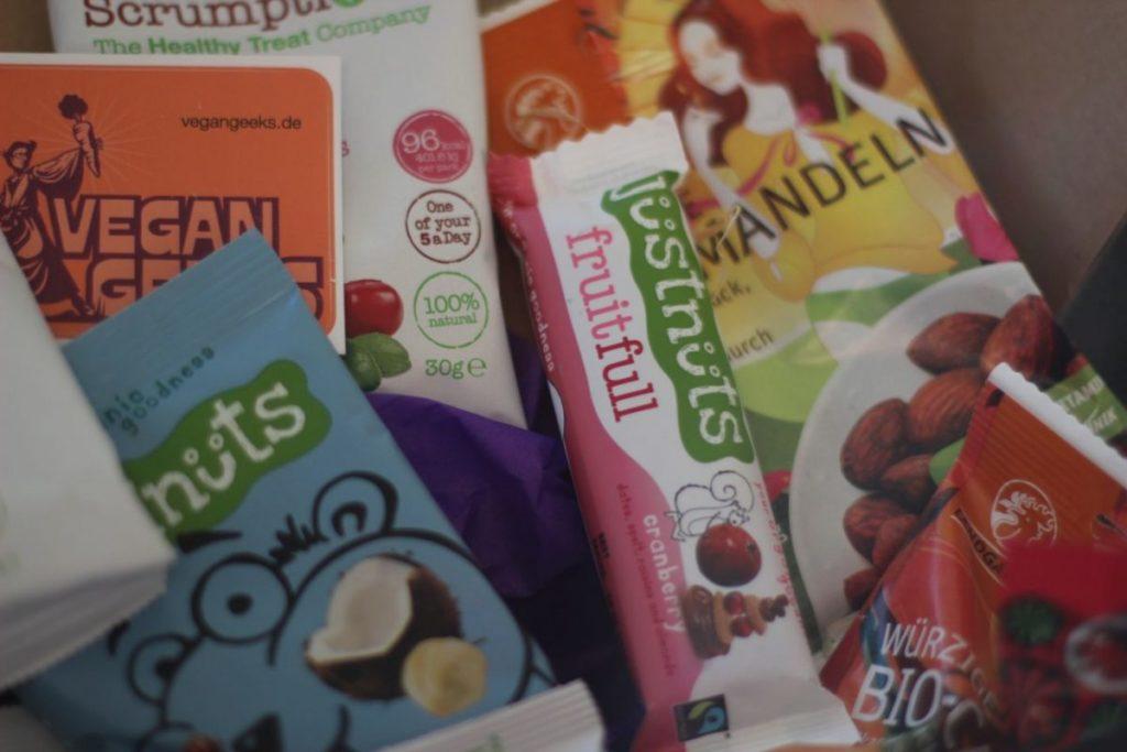 Oh my sweets Box Vegan Geeks