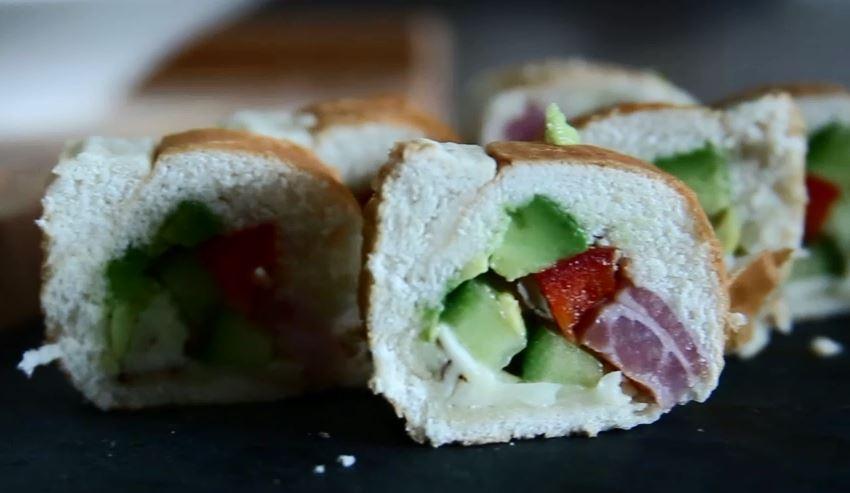 Sandwich-Sushi