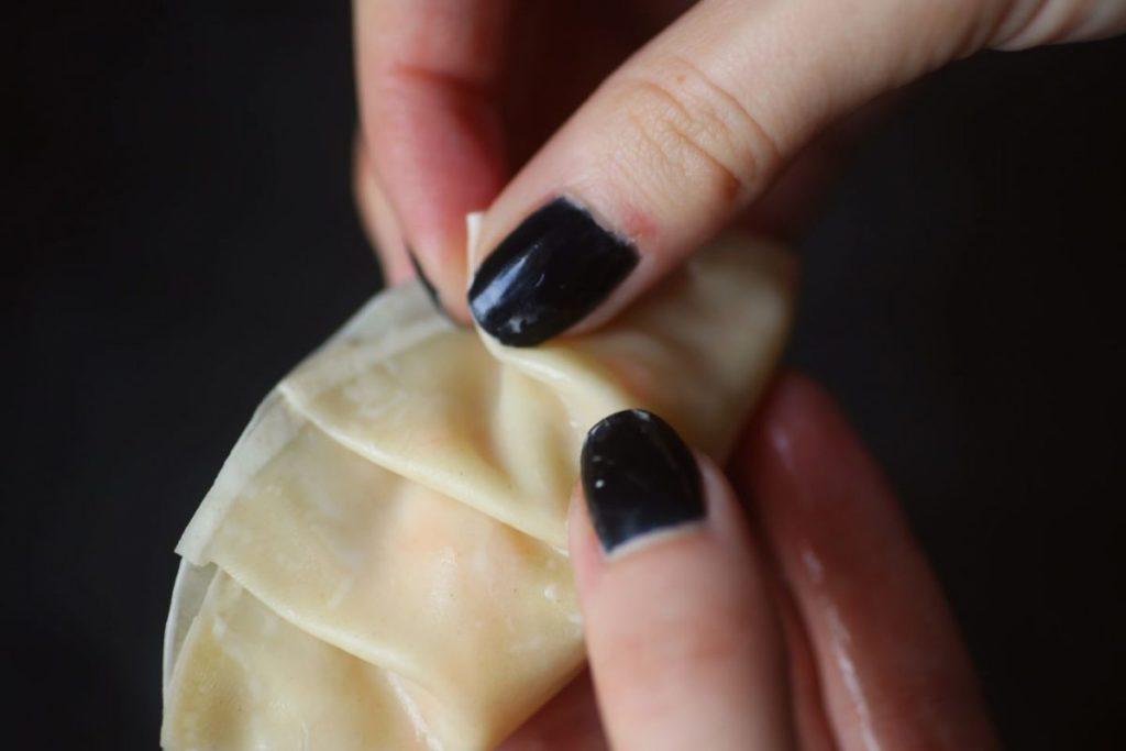 Dumplings selbermachen falten