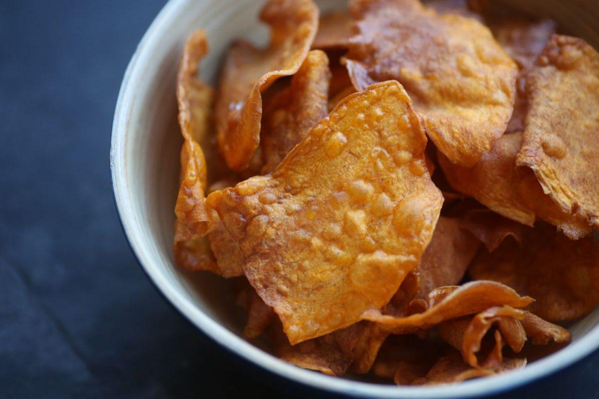 Süßkartoffelchips selbermachen