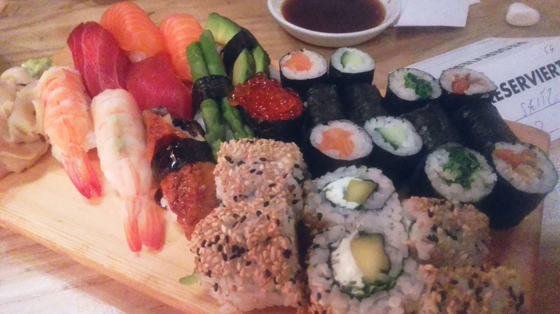 Sushi+Soul Sushiplatte