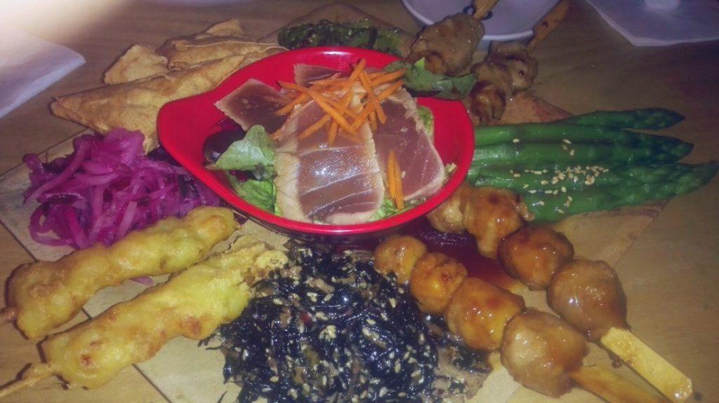 Sushi+Soul Vorspeisenplatte