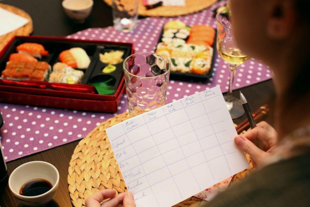 Sushi Lieferdienst