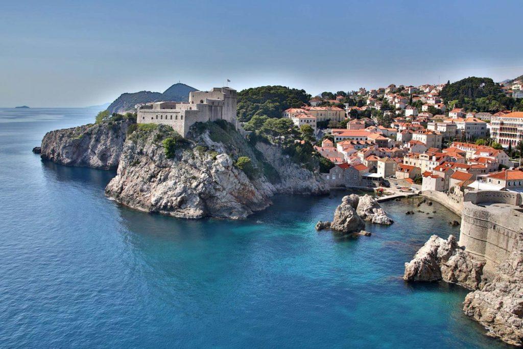 Die Festung von Dubrovnik