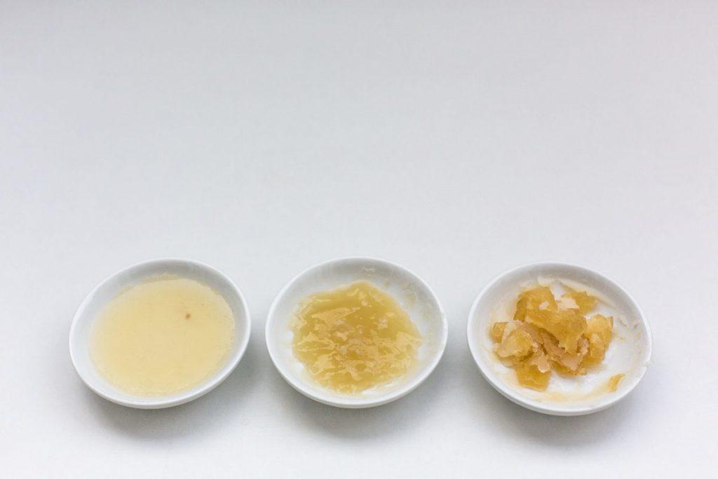 Tonkotsu-Brühe stockt beim Erkalten