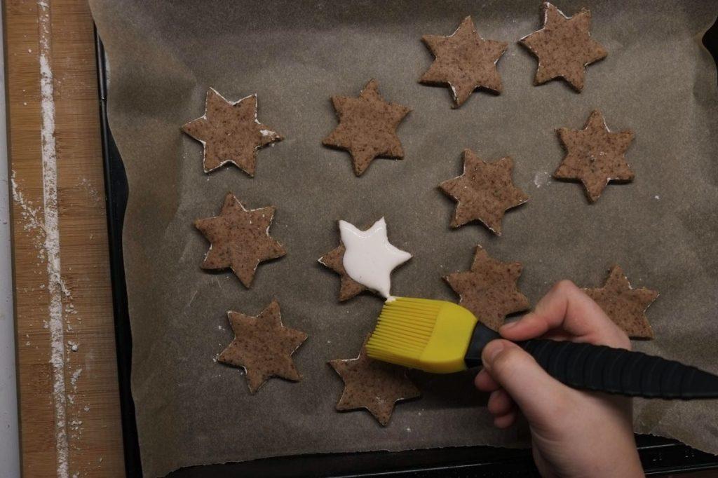 Sterne glasieren