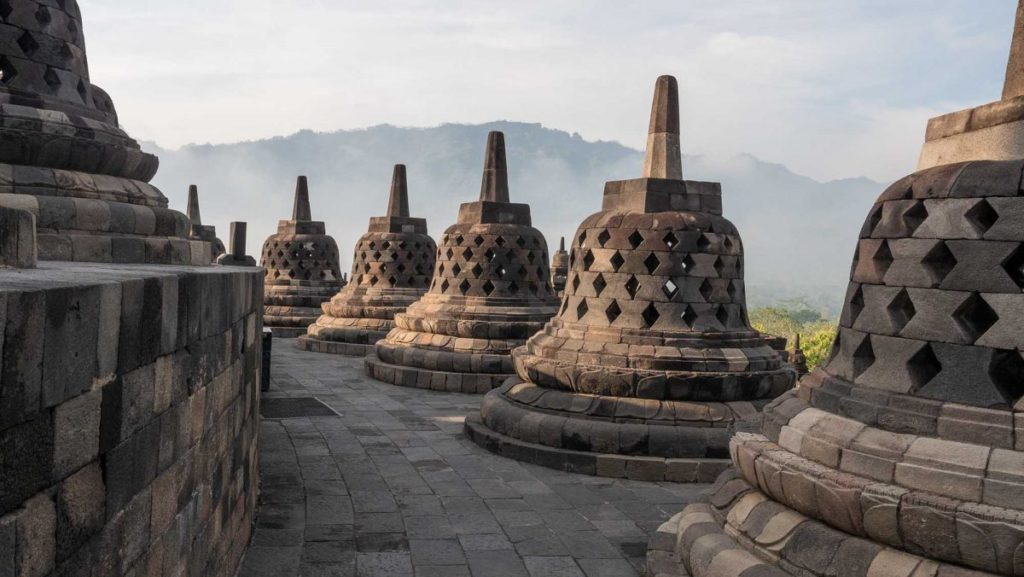 Reisen auf Java: Borobodur