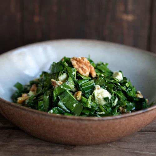Bärlauch-Salat