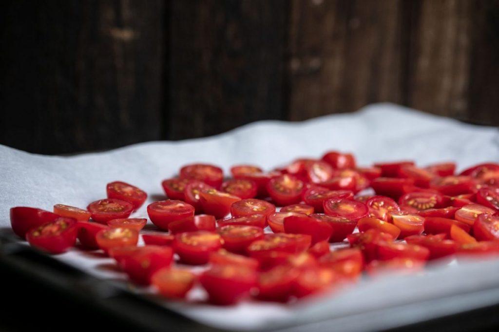 Brotsalat Tomaten