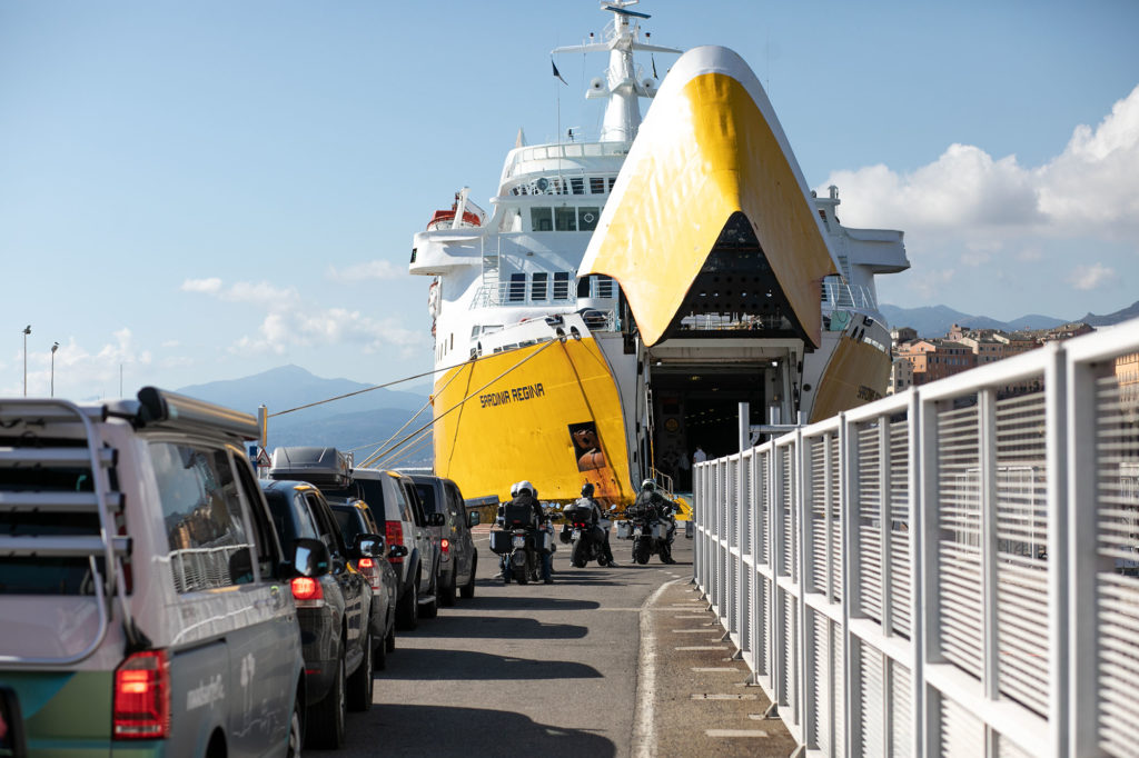 Korsika Ferries in Bastia
