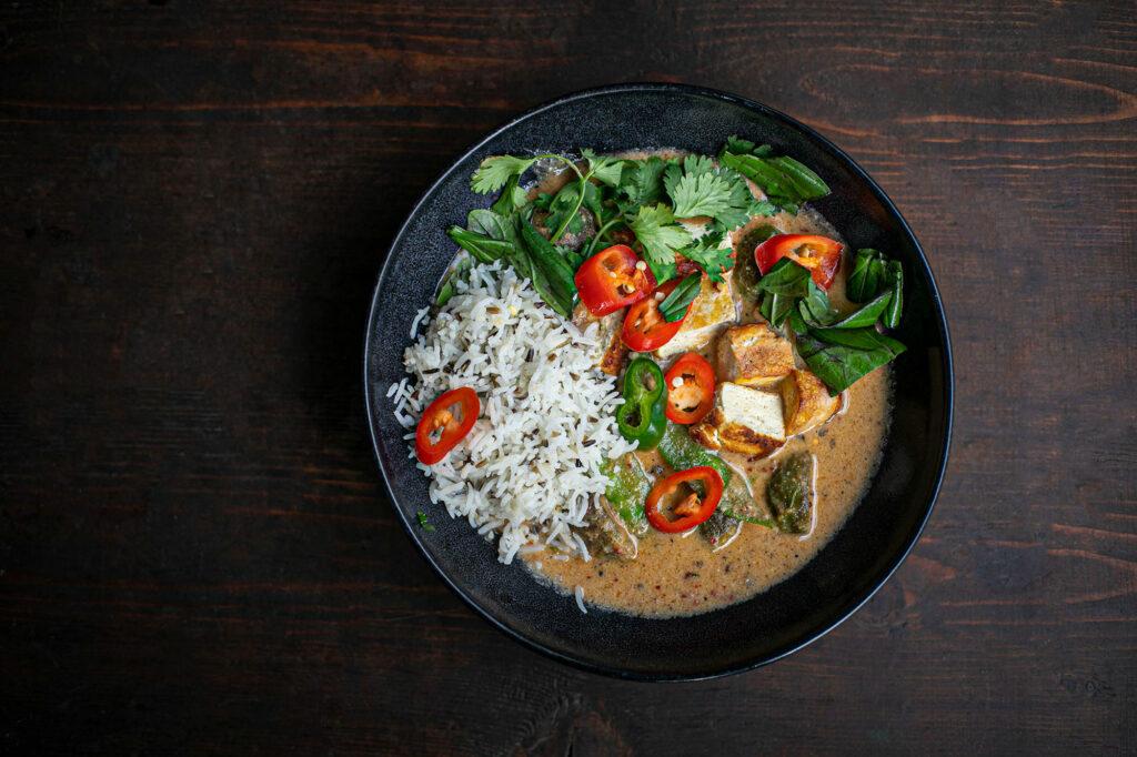 Thai-Curry: zubereitet mit eigener Currypaste.