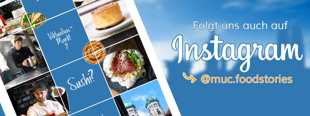 Banner Instagram Munich Food Stories